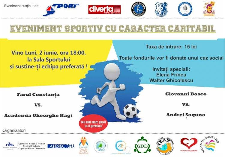 Eveniment caritabil la Sala Sporturilor din Constanța