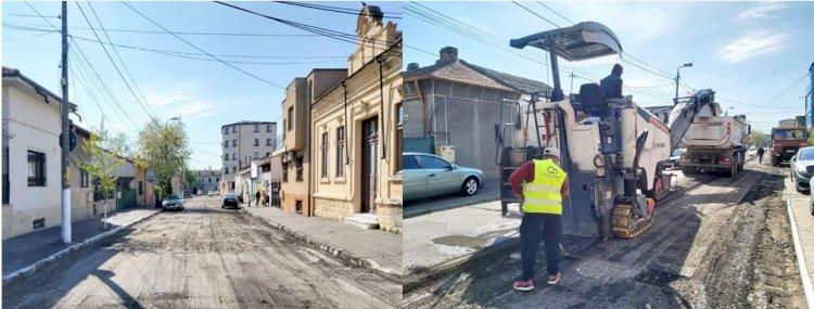 Lucrările de modernizare a carosabilului se extind în cartierele Constanței