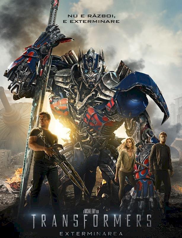 """""""Transformers: Exterminarea"""" pe primul loc în box office-ul nord-american"""