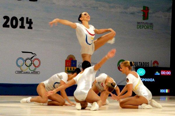 România a cucerit trei medalii de aur și două de argint la Campionatele Mondiale de gimnastică aerobică de la Cancun