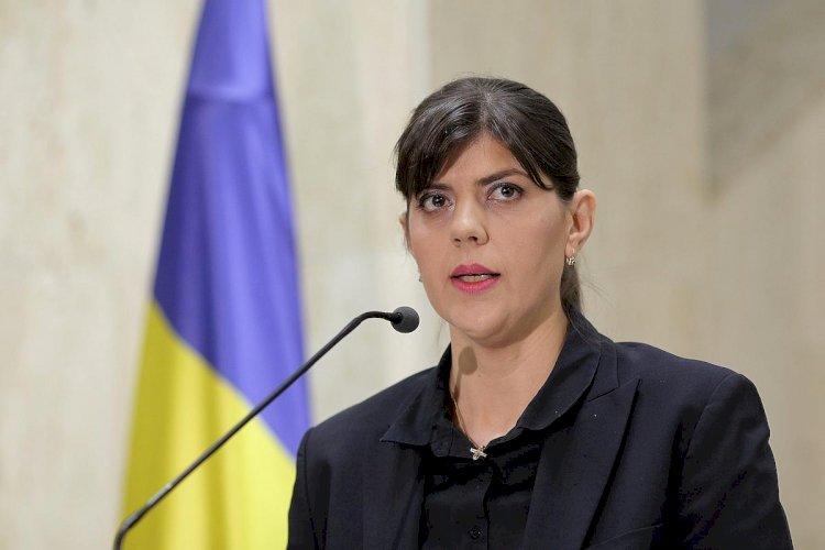 Laura Codruţa Kovesi, desemnată personalitatea publică a anului de Emerging Europe