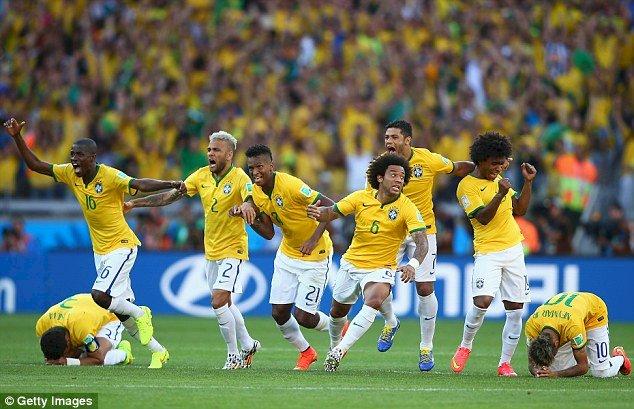 CM de fotbal: Brazilia - Chile 1-1 (3-2, lovituri de departajare)