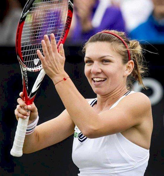 Simona Halep s-a calificat în optimile de finală la Wimbledon