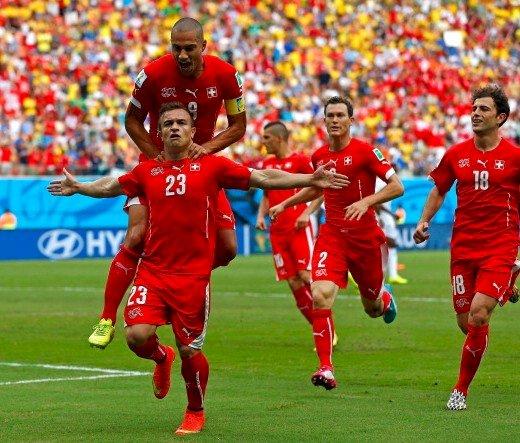 Elveția se califică în optimile de finală, după 3-0 cu Honduras