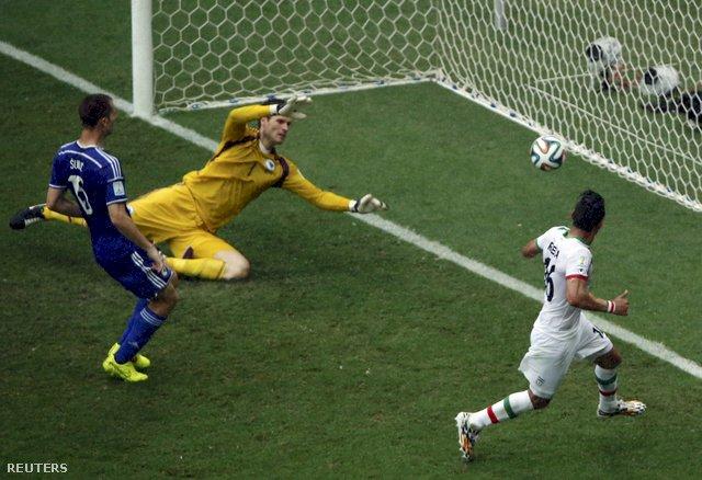 CM de fotbal: Echipa Bosniei a obținut o victorie de palmares, 3-1 (1-0) cu Iran