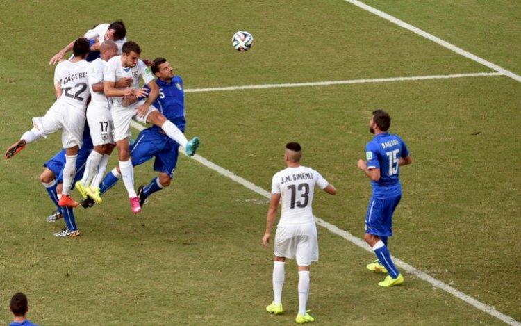 CM de fotbal: Uruguay a învins Italia cu 1-0 și s-a calificat în optimi