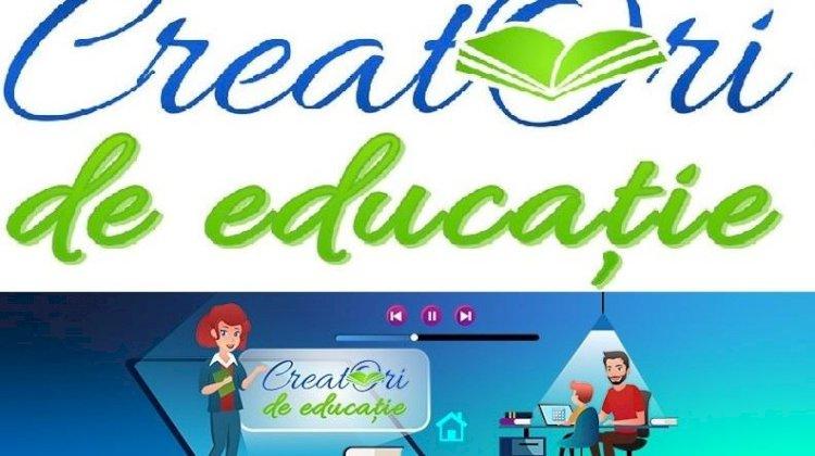 """Încep înscrierile pentru selecția națională """"Creatori de Educație"""""""