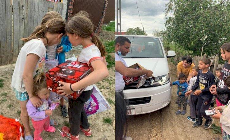 Foto: Voluntari de la UNITED le-au dus alimente familiilor izolate și bătrânilor singuri din Munții Apuseni