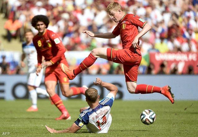 Belgia a învins Rusia, scor 1-0 și s-a calificat în optimile Cupei Mondiale