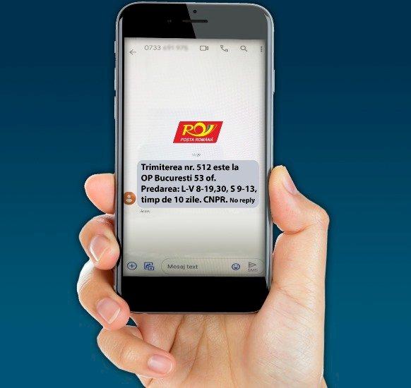 Poşta Română anunță clienții prin SMS la sosirea coletelor din China