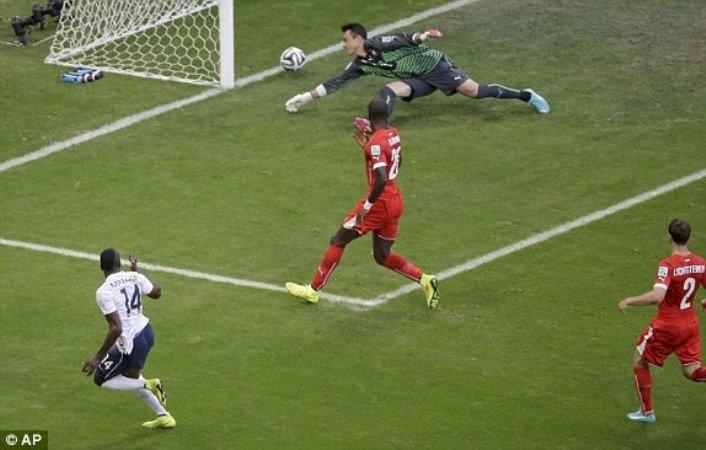 CM de fotbal: Franța reușește scorul Cupei Mondiale, 5-2 cu Elveția