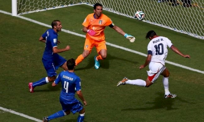 CM de fotbal: Costa Rica produce o nouă surpriză, 1-0 cu Italia