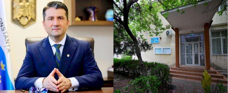 Decebal Făgădău a semnat contractul de finanțare pentru Școala Gimnazială nr.8 din Constanța