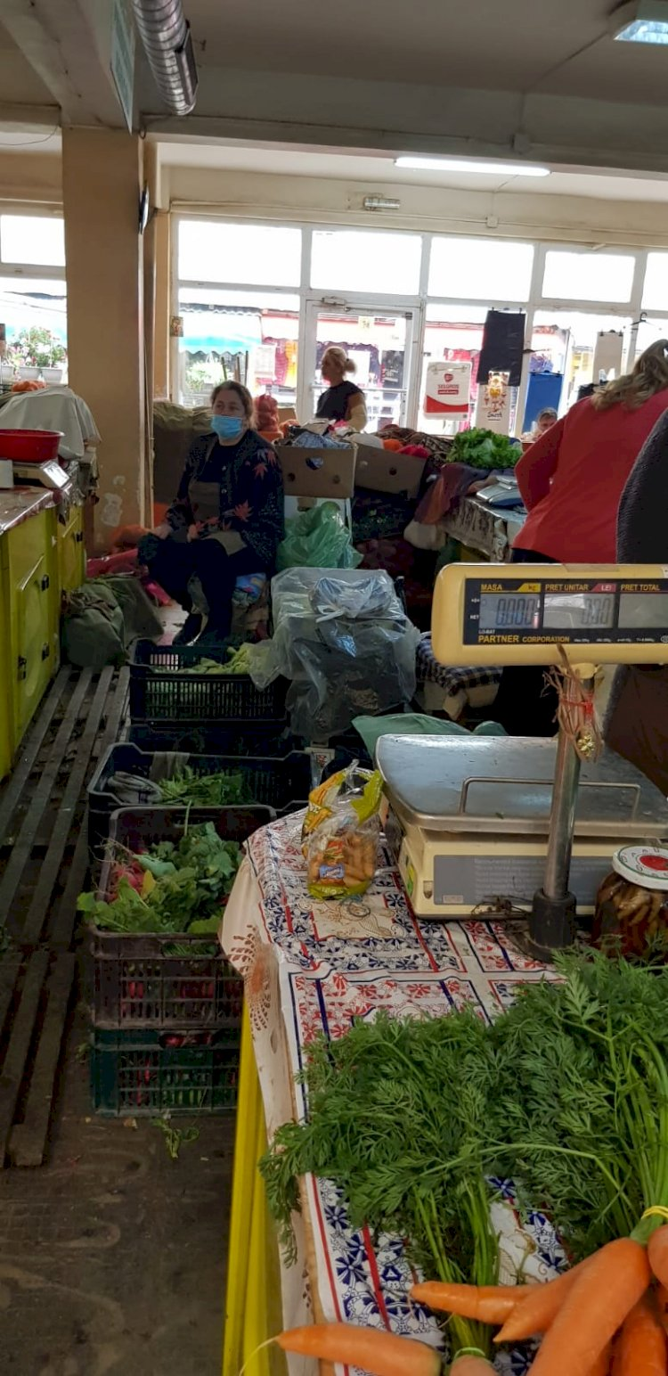 AMENDĂ 10.000 RON pentru Administratorul Pieței Agroalimentare 1 Mai, din Târgoviște