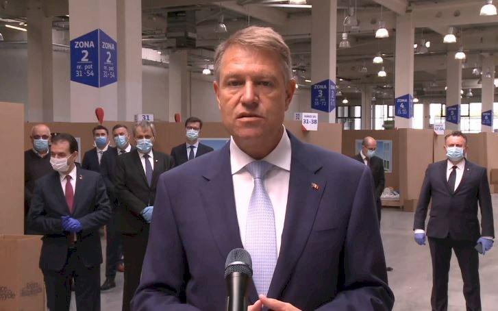 Iohannis: Sunt bucuros că oamenii de afaceri nu au lăsat statul singur în epidemie