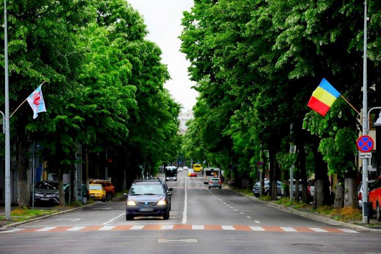 Primăria Constanța marchează Ziua Constanței prin arborarea a peste 200 de steaguri tricolore și cu sigla orașului