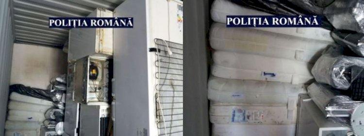 Container cu deșeuri sosit din Germania, descoperit de polițiștii constănțeni