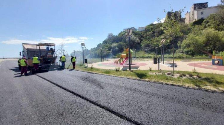 Primăria Constanța continuă lucrările de modernizare a carosabilului pe strada Lebedei