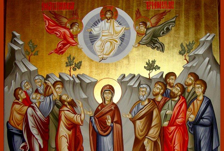 """Astăzi sărbătorim Înălțarea Domnului! Până când se salută cu """"Hristos s-a înălțat"""""""