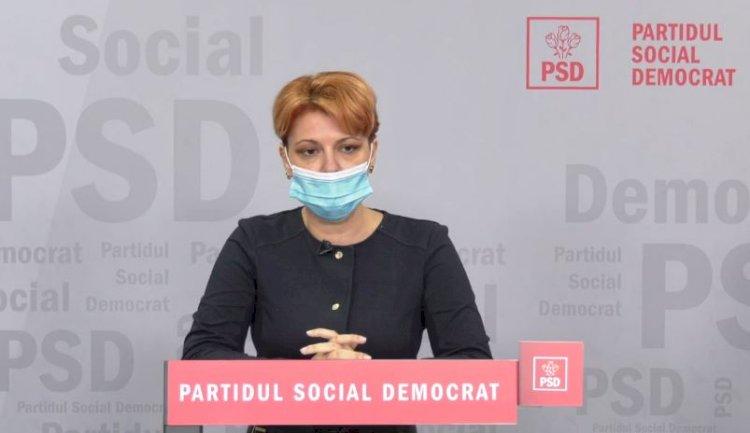 Olguţa Vasilescu: Lege făcută de PSD. Bani europeni pentru angajări, disponibili