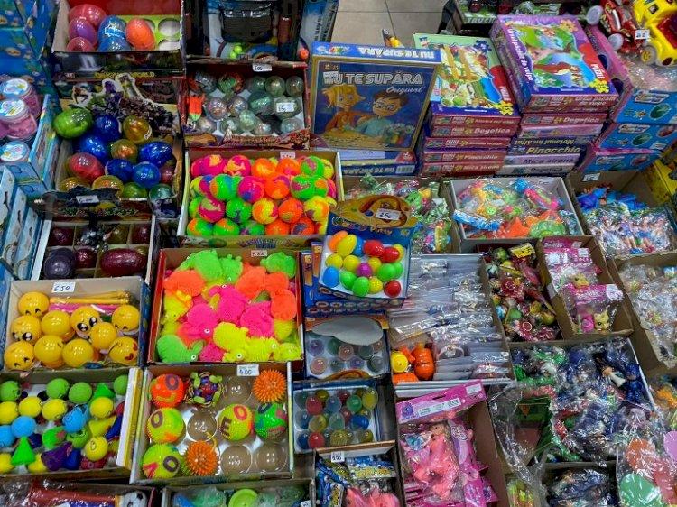 Amenzi de peste 1 milion de lei aplicate de ANPC comercianților de jucării din toată țara