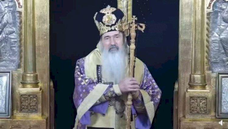 Teodosie vrea credincioși la slujba de Înviere