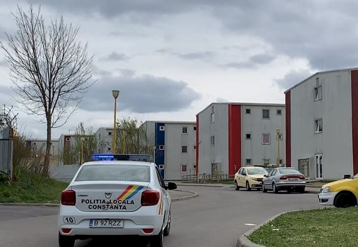 Locuitorii din cartierul social Henri Coandă, monitorizați în permanență pe perioada stării de urgență