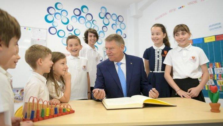 Iohannis, mesaj pentru copii: Aceste încercări vă vor face mai puternici