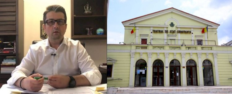 Decebal Făgădău a semnat contractul de finanțare pentru Teatrul de Stat Constanța