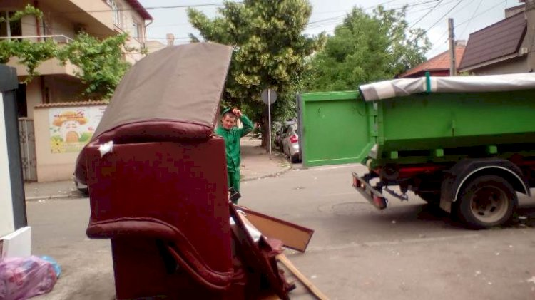 Polaris ridică gratuit deșeurile voluminoase la solicitarea cetățenilor
