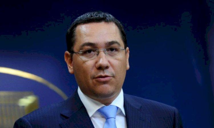 Ponta: Mă gândesc să candidez în 2024 la Preşedinţie. E un an special, cu patru feluri de alegeri politice