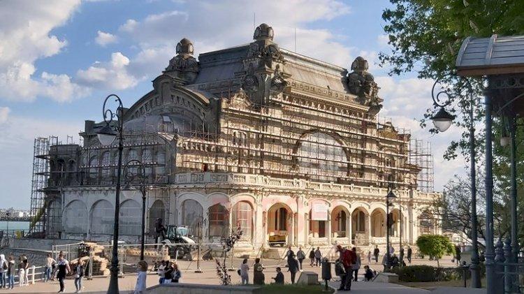 Lucrările la Cazinoul din Constanța vor respecta proiectul original, cu detaliile arhitecturale din anul 1910