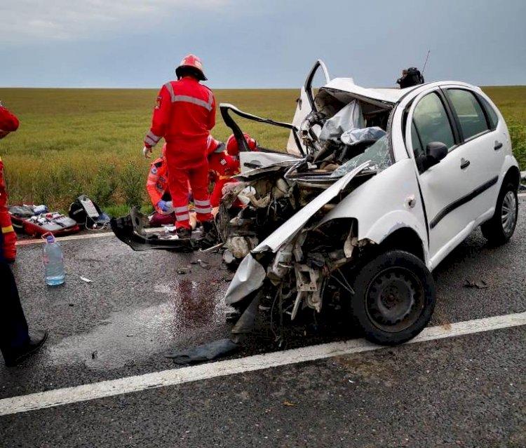 Accident rutier grav între Constanța și Tulcea soldată cu trei victime. O tânără a decedat