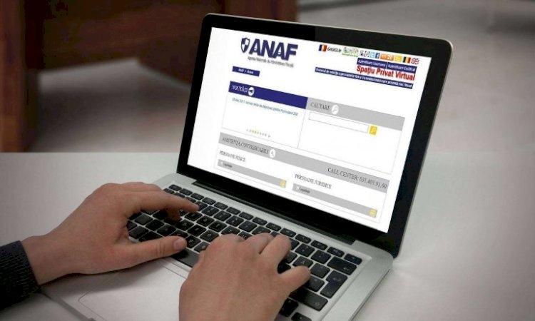 ANAF dezvoltă și implementează noi facilități ale serviciului Spatiul Privat Virtual