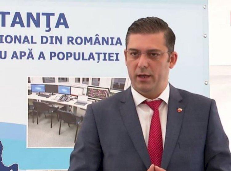 Țuțuianu: Apa înseamnă viață! Va crește calitatea vieții pentru încă 35.000 de locuitori ai județului Constanța