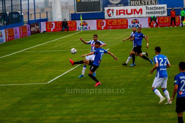 Viitorul rămâne primul loc în play-out-ul Ligii I după victoria cu 2-1 în fața echipei Poli Iași