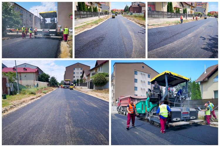 Continuă programul de amenajare a infrastructurii rutiere în cartierul Compozitorilor