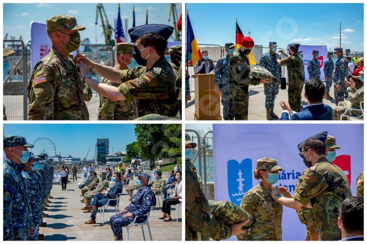 FOTO Soldații români și americani premiați, pe faleza Cazino din Constanța