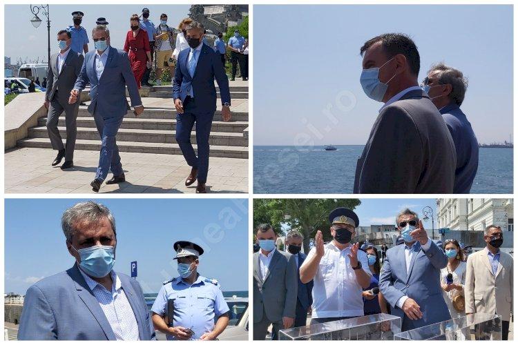 Stațiunile de pe litoral vor fi împânzite de polițiști. Marcel Vela nemulțumit de implementarea regulilor pe litoral