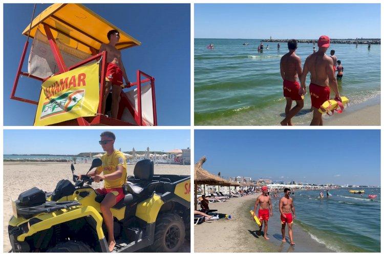 Aproximativ 120 de salvamari vor supraveghea plajele din Mamaia şi Constanţa