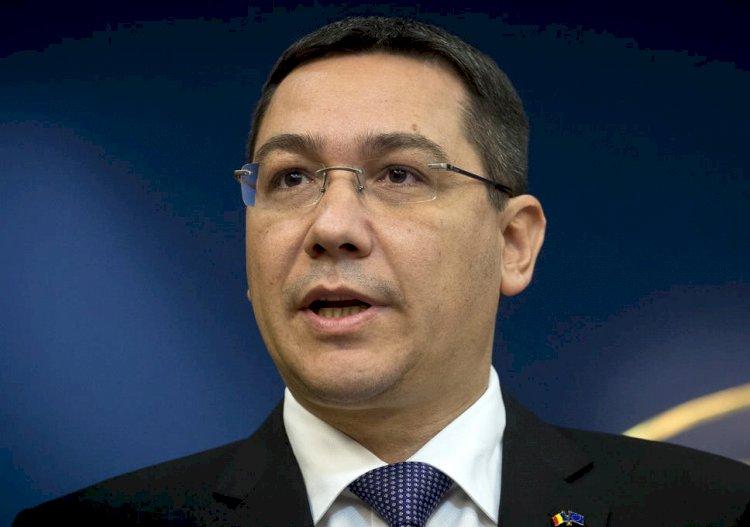 Ponta: Rugămintea mea către populaţie este să nu ţină cont de nicio decizie emisă sau semnată de Orban