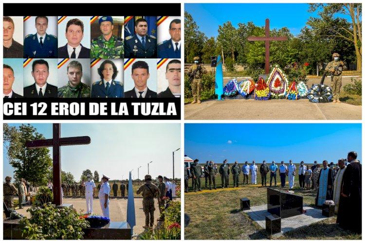 Astăzi se împlinesc zece ani de la accidentul aviatic de pe aerodromul din Tuzla