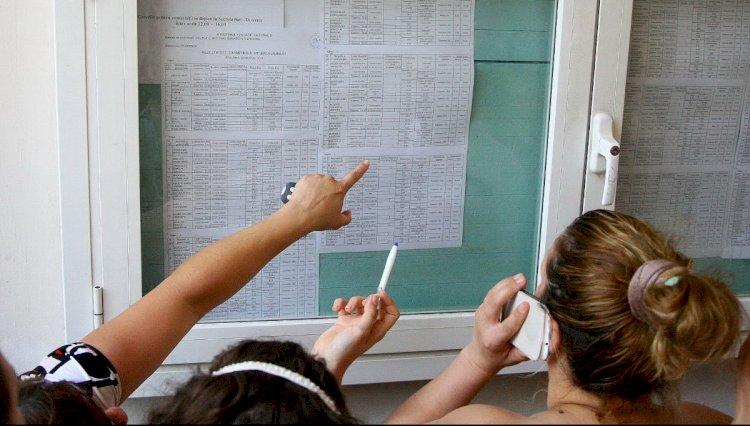 Rata de promovare în prima sesiune a examenului de Bacalaureat este de peste 64 la sută