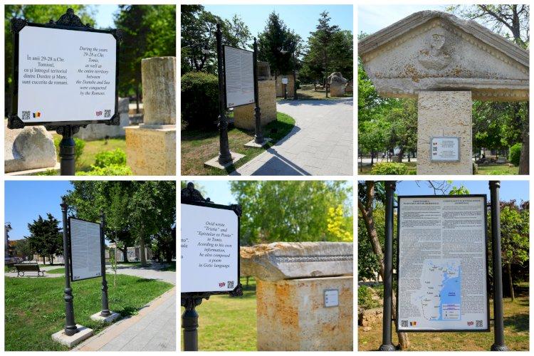 Istoria Cetății Tomis, descoperită în timpul unei plimbări în Parcul Arheologic