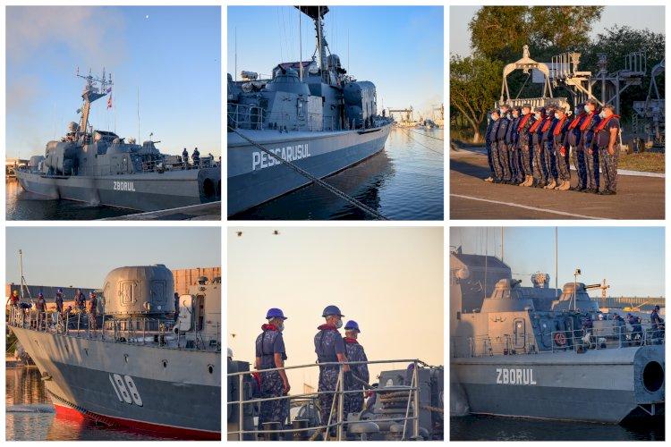 Trei nave militare românești, la un exercițiu în Marea Neagră organizat de Bulgaria