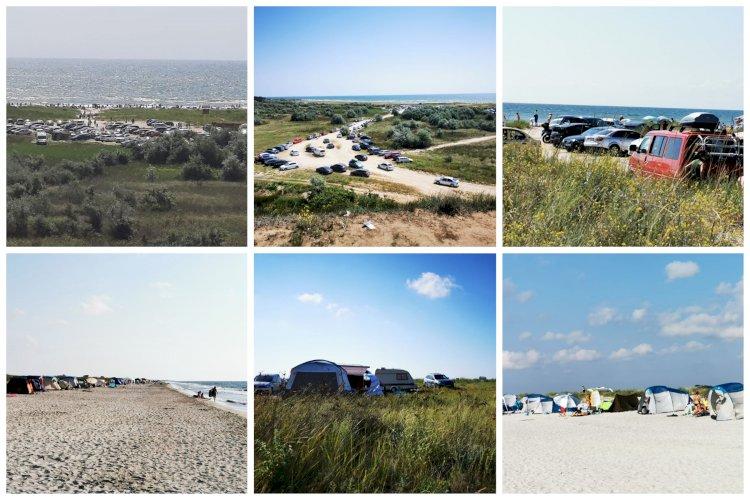 Amenzi usturătoare pentru cei care au campat şi au intrat cu maşinile pe plajele de la Vadu şi Corbu