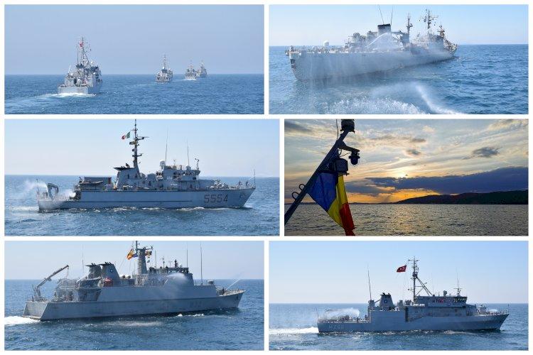 Misiune NATO îndeplinită cu succes pentru dragorul maritim Locotenent Lupu Dinescu