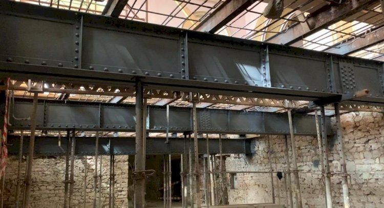 Grinzile construite de Anghel Saligny, vechi de peste 113 de ani, păstrate intacte în Cazinoul din Constanța