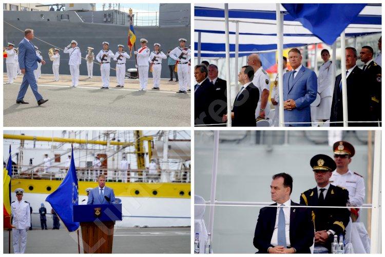 FOTO - Ziua Marinei Române a fost sărbătorită, în premieră, fără spectatori