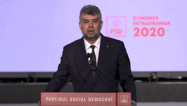 Marcel Ciolacu a fost ales preşedinte al Partidului Social Democrat